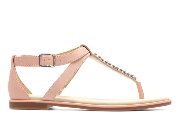 Clarks Bay Poppy Light Pink Lea