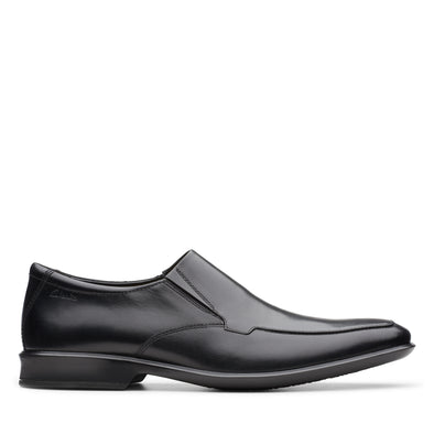 Clarks Bensley Step Black Leather