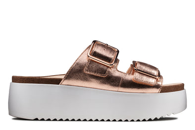 Clarks Botanic Slide Copper