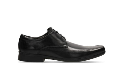Clarks Aze Day Black Leather