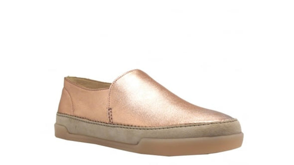 Clarks Hidi Hope Rose Gold Lea