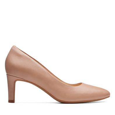 Clarks Calla Rose Praline Leather