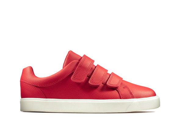 Clarks City OasisLo K Red Leather