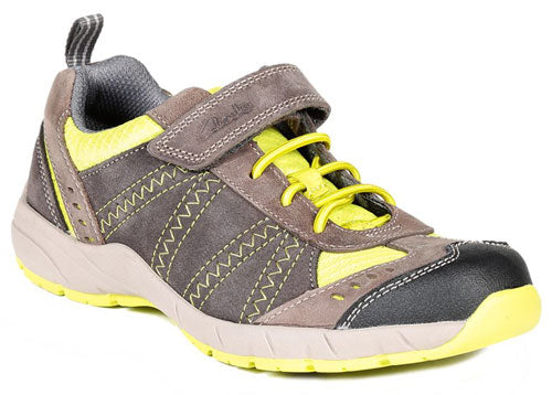 Clarks Cross Dash Grey Combi Lea