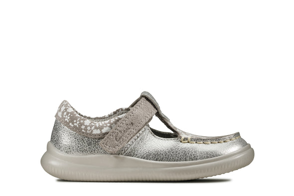 Clarks Crest Rosa T Metallic Leather