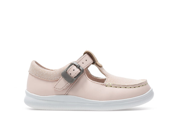 Clarks Crest Rosa T Pink Leather