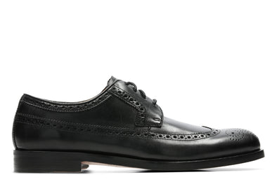 Clarks Coling Limit Black Leather