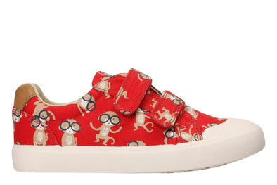 Clarks Comic Air Red Combi