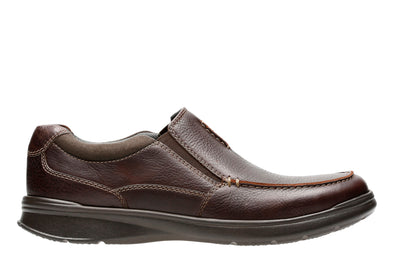 Clarks Cotrell Free Brown Oily