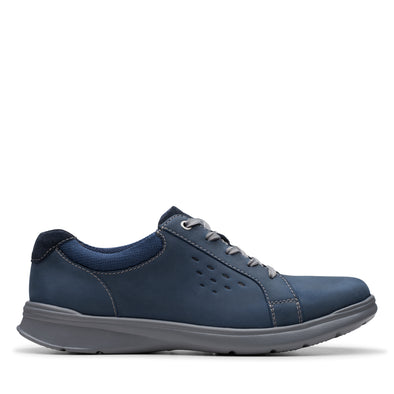 Clarks Cotrell Stride Navy Leather