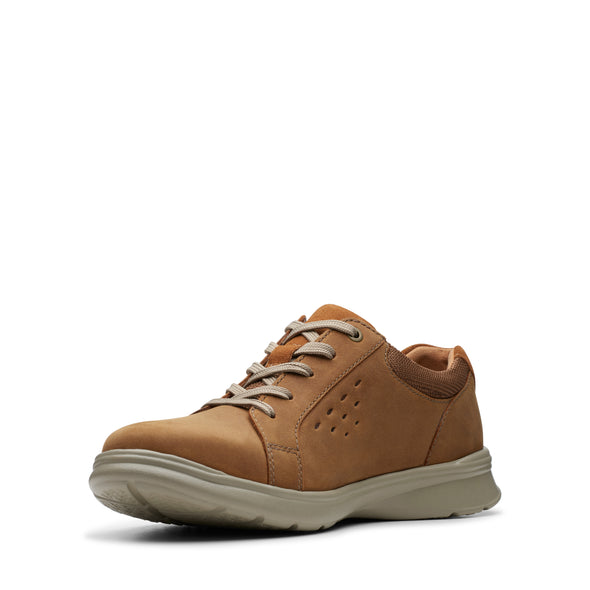 Clarks Cotrell Stride Tan Leather