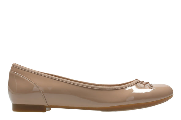 Clarks Couture Bloom Nude Patent