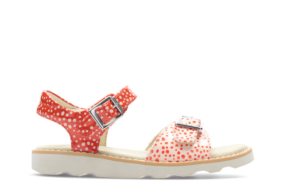 Clarks Crown Bloom K Orange