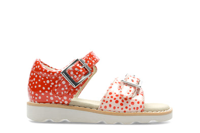 Clarks Crown Bloom T Orange