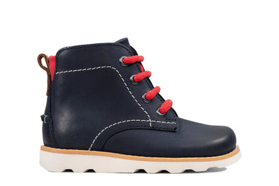 Clarks Crown Hike T Navy Leather