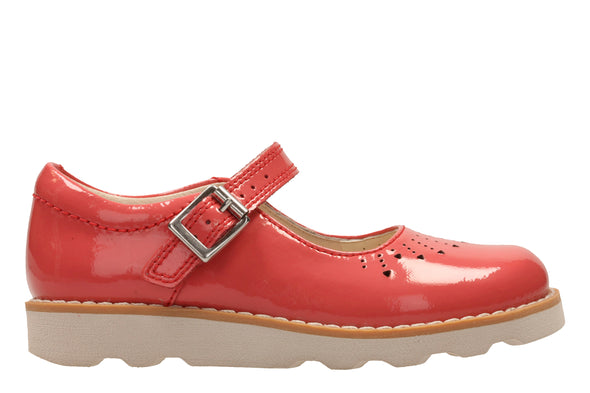 Clarks Crown Jump Coral Patent