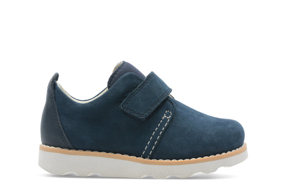 Clarks Crown Park T Navy Leather