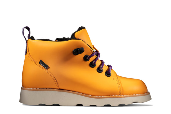 Clarks Crown Tor K Yellow Leather