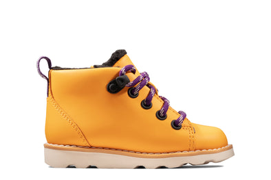 Clarks Crown Tor T Yellow Leather
