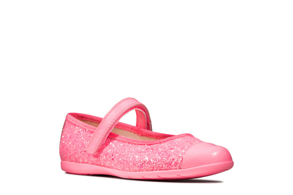 Clarks Dance Tap T Pink Synthetic