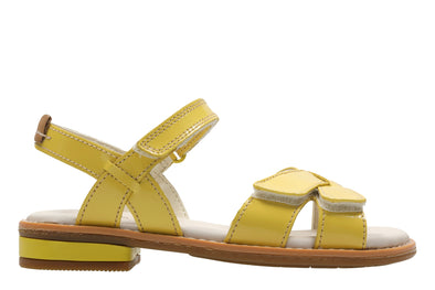 Clarks Darcy Charm Yellow Patent
