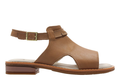 Clarks Darcy Lily Tan Leather