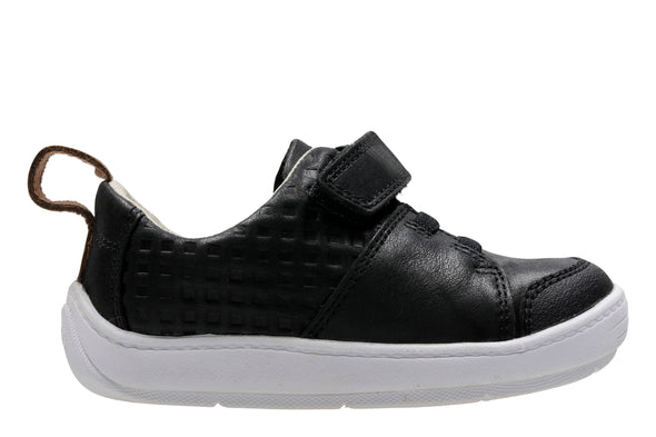 Clarks Dash Racer Black Leather
