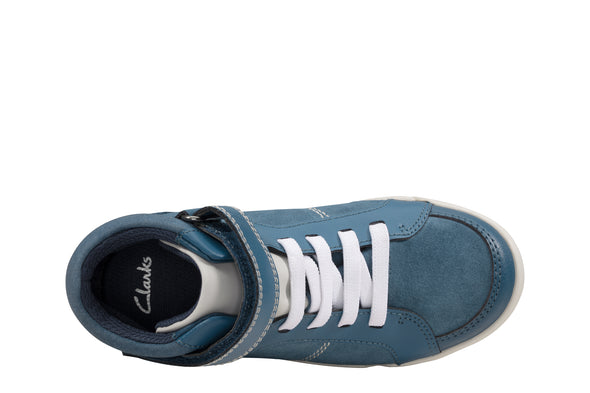 Clarks Emery Beat K Blue Suede