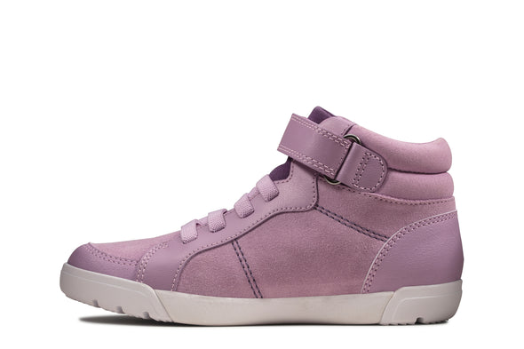 Clarks Emery Beat K Lavender Suede
