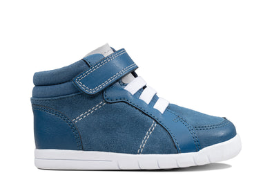 Clarks Emery Beat T Blue Suede