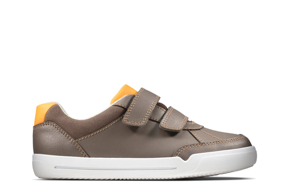 Clarks Emery Sky K Brown Leather