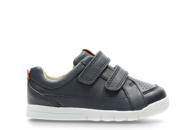 Clarks Emery Walk T Navy Leather