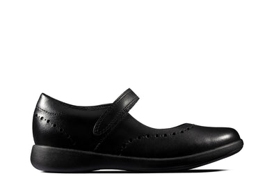 Clarks Etch Craft K Black Leather