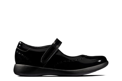 Clarks Etch Craft K Black Pat