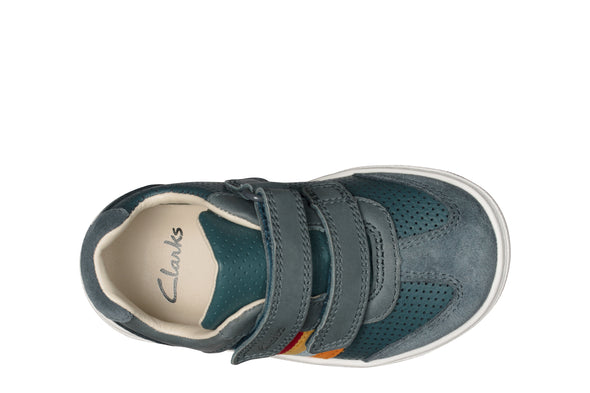 Clarks Flash Beau T Navy