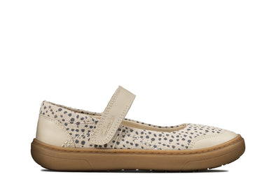 Clarks Flash Stride K Cotton Leather
