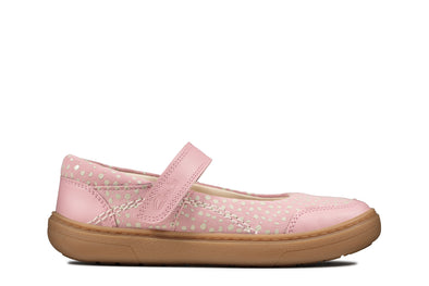 Clarks Flash Stride K Dusty Pink Lea