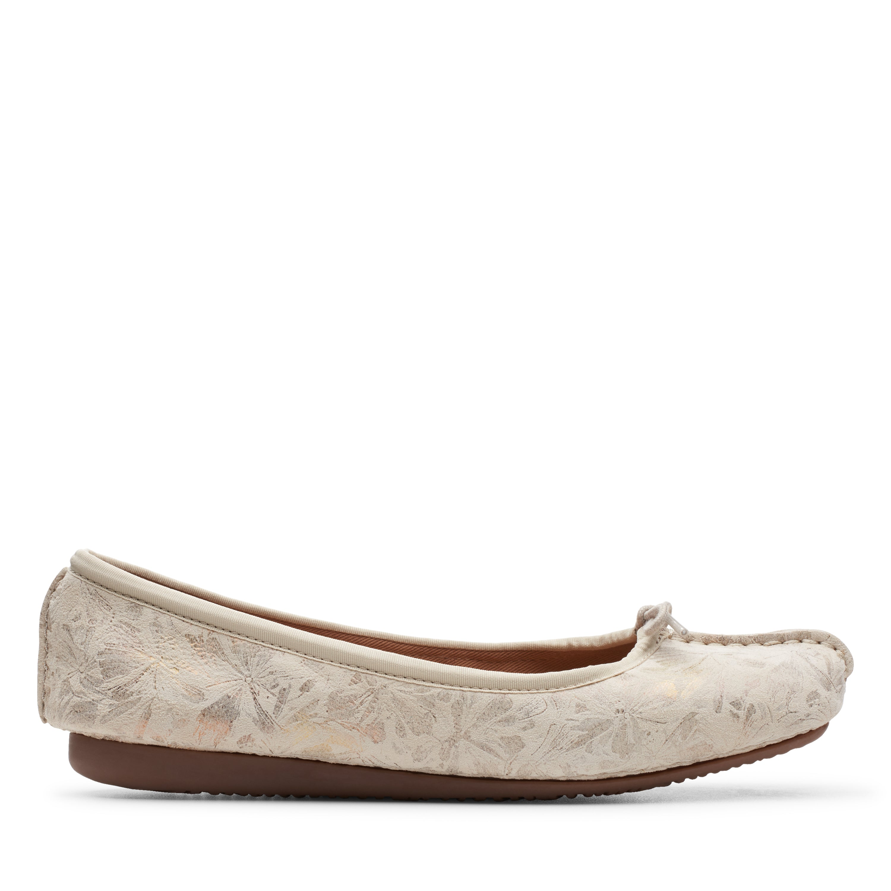 Clarks Freckle Ice Off White – Central