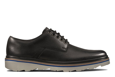 Clarks Frelan Edge Black Leather