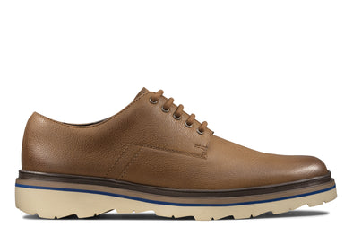 Clarks Frelan Edge Brown Leather