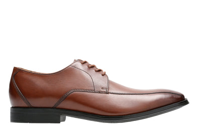 Clarks Gilman Mode Dark Tan Lea