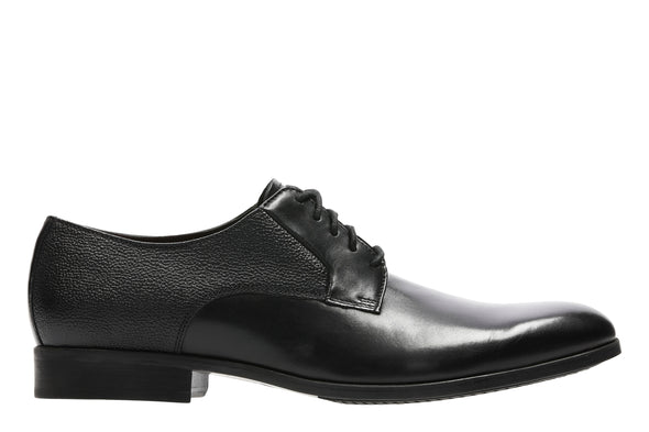 Clarks Gilmore Lace Black Leather