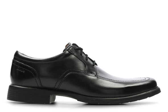 Clarks Huckley Spring Black Leather