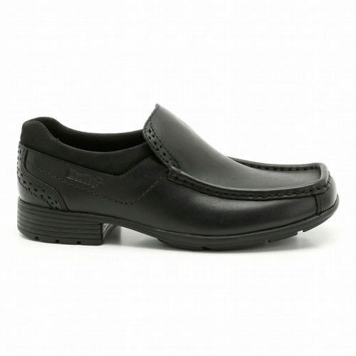 Clarks Addison BL Black Leather