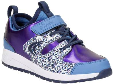 Clarks Adven Jump Jnr Purple