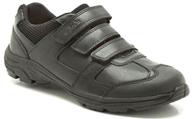 Clarks Air Lesson Black Leather