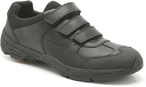 Clarks Air Surrey BL Black Leather