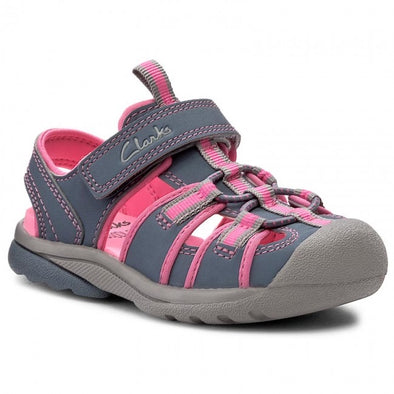 Clarks Beach Tide Fst Grey Combi