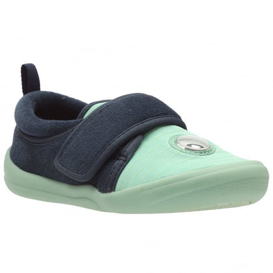Clarks Cuba Flash Inf Green Synthetic