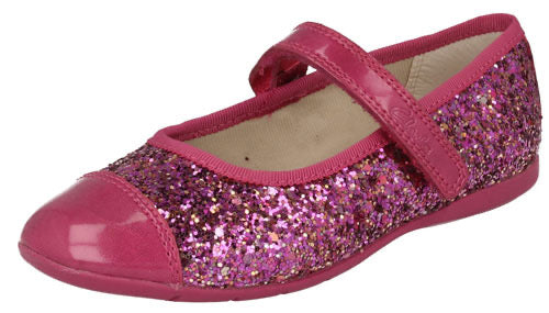 Clarks Dance Idol Pre Pink Synthetic